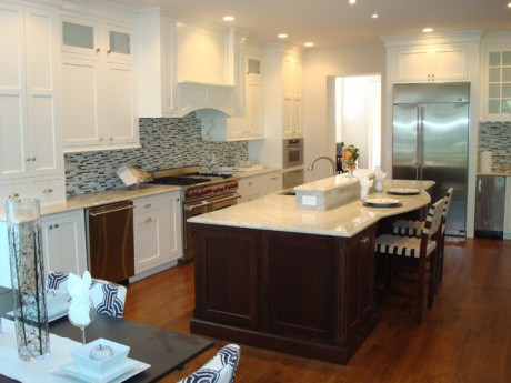 Stacked Stone Kitchen Design Ideas, Pictures, Remodel and